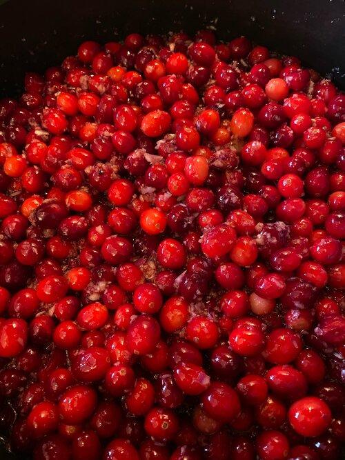 Festive Edible Gifts! Cranberry Chutney